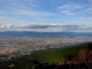 耳納連山からの風景②